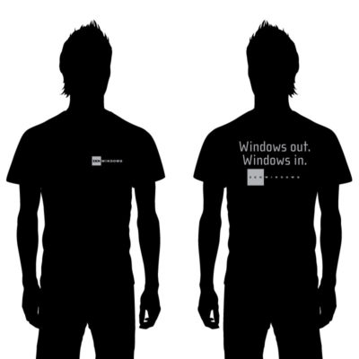 Zen Windows installer Shirts