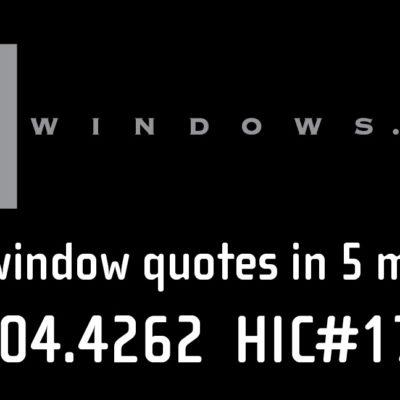 "Zen Windows 9x18"" car magnet"
